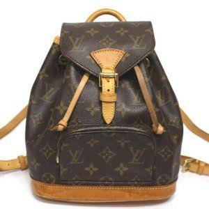 Louis Vuitton Montsouris Monogram Backpack BAG